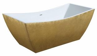 Ванна Lagard золотая