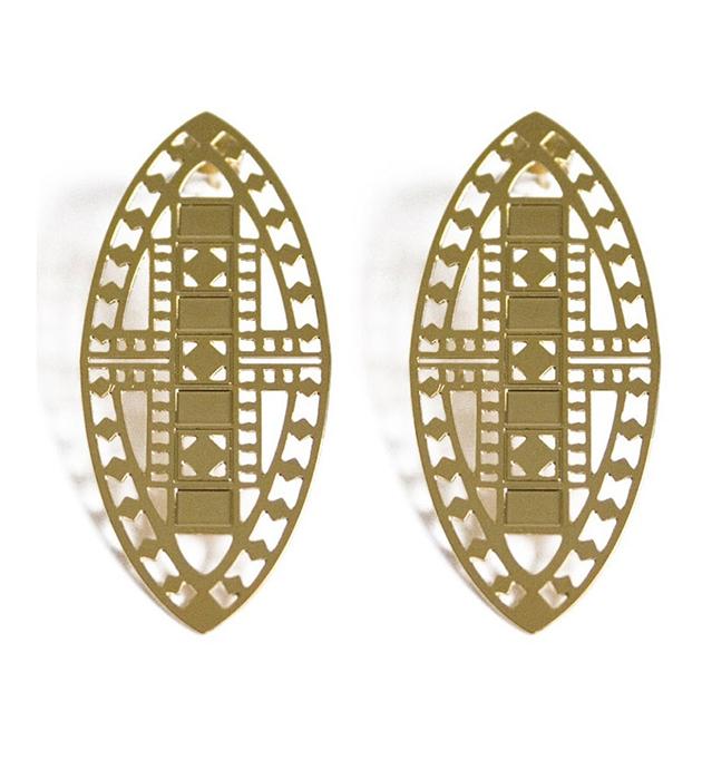 купите серьги в византийском стиле Vassily Love от Chic Alors-Paris