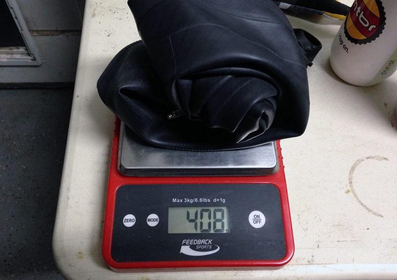 Bontrager Hodag and Jackalope tube weight - Чем можно заменить камеру в колесе