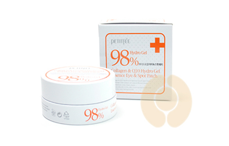 PETITFEE 98% COLLAGEN & COQ10 HYDRO GEL EYE PATCHБ 60PCS
