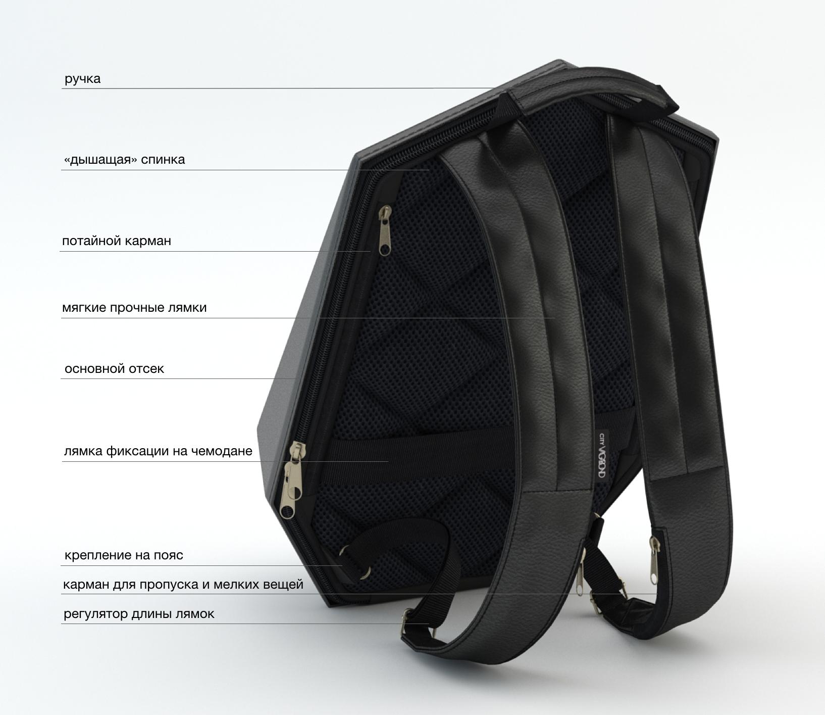 06760dfa6c Универсальный городской рюкзак City Vagabond Superhero Backpack