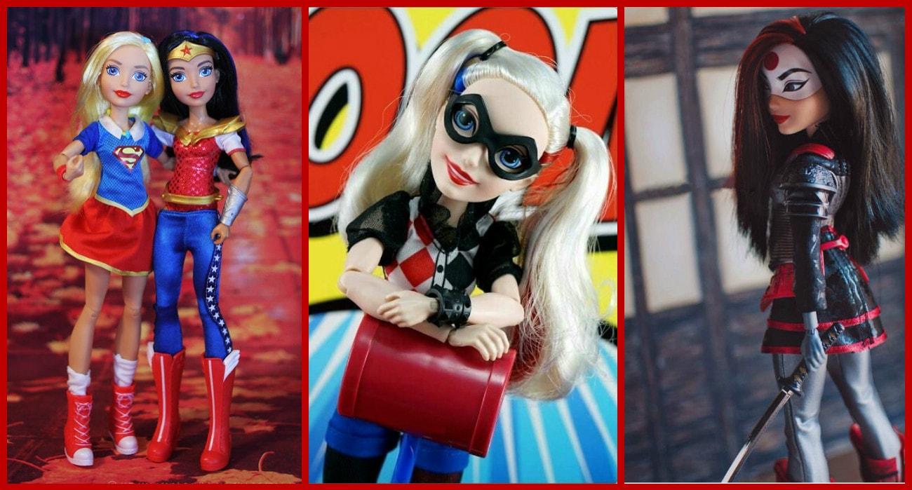 DC SUPER HERO GIRLS - СУПЕРГЕРОИНИ