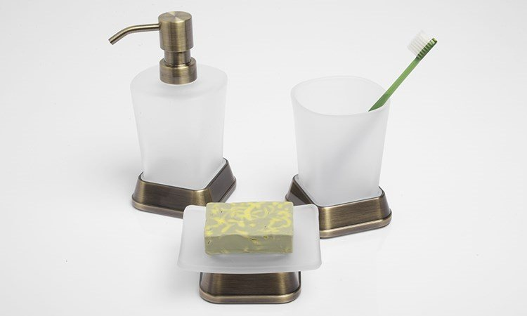 Коллекция аксессуаров для ванной WasserKRAFT Exter