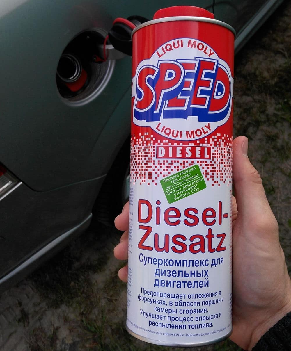 Liqui Moly Diesel Zusatz залиска в бак