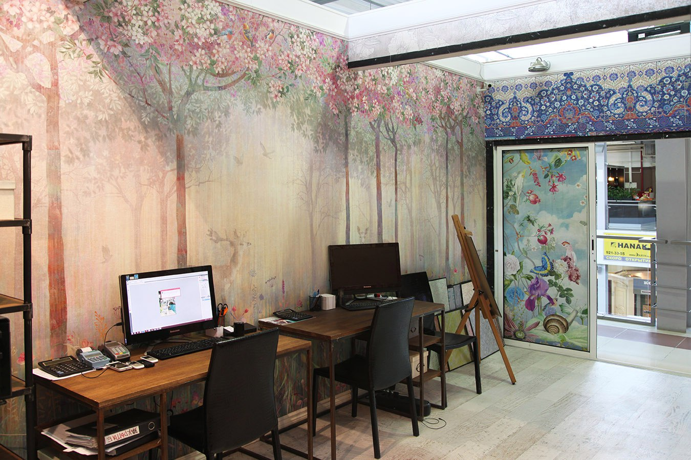 Фреска в кабинете