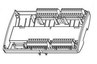 Размеры контроллера Tac Xenta 280/300