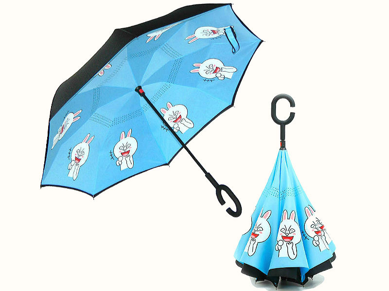 Обратный умный зонт анимэ