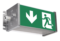 ROBUST EXIT - аварийное освещение для промышленных помещения с тжелыми условиями эксплуатации