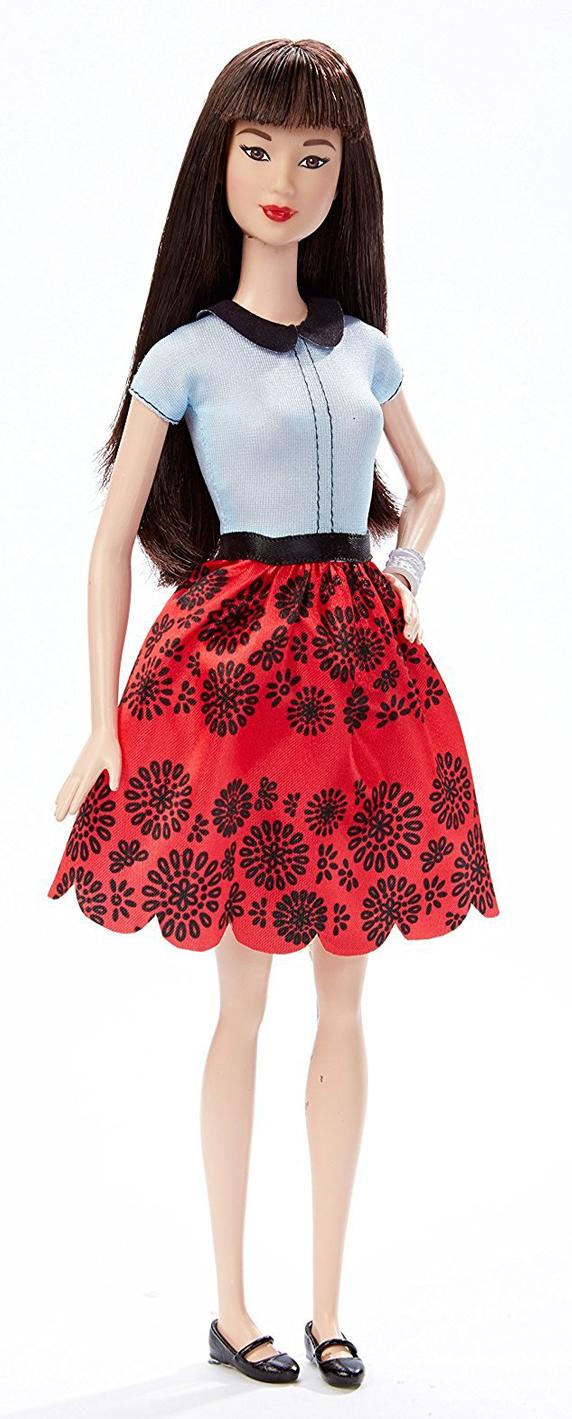 "Кукла Барби ""Модница"" 19 (Красный рубин)"