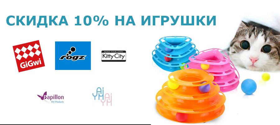 Скидка 10% на игрушки!