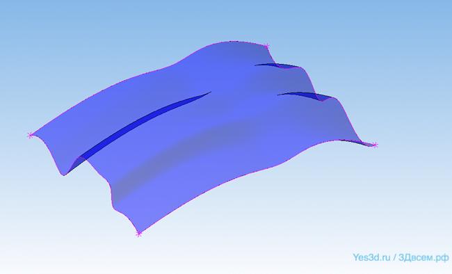 yes3d-4.pngКОМПАС-3D Home для чайников. Основы 3D-проектирования. Часть 10.1. Поверхностное моделирование: Теория.