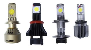 Виды светодиодных ламп головного света