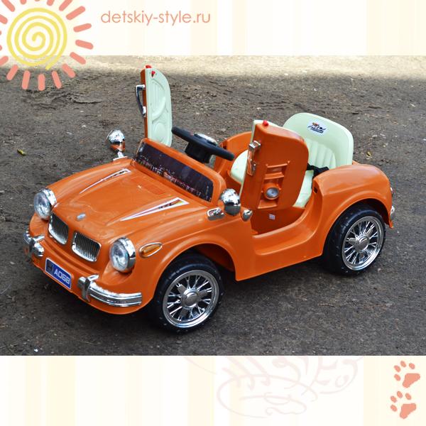 электромобиль bmw retro 068, купить, цена, электромобиль river auto bmw retro 068, river toys, отзывы, заказать, стоимость, заказ, бесплатная доставка, доставка по россии