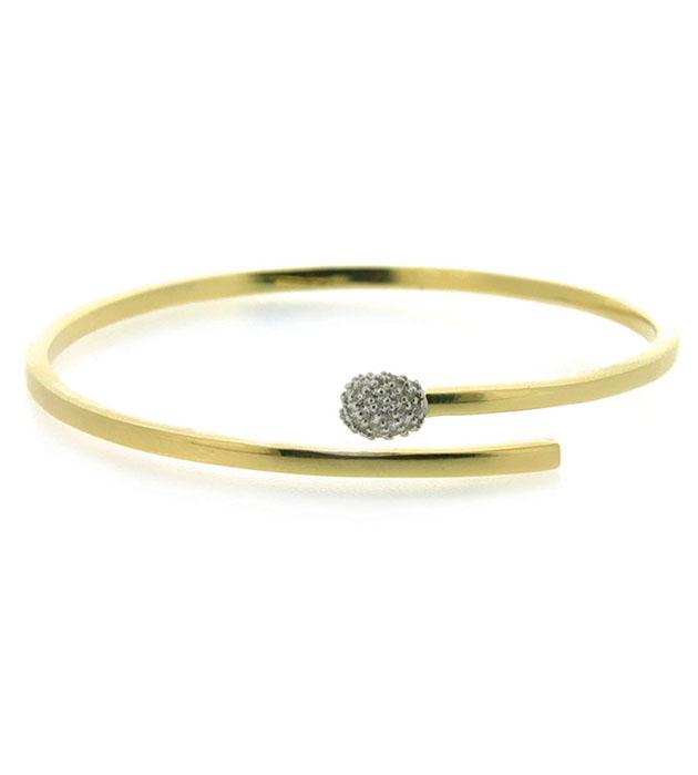 купите изящный браслет ручной работы с цирконами от Miss Bibi - Precious Match bracelet