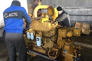 Ремонт двигателя в ДСТС