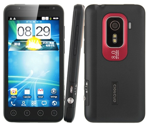 HTC Hero H5500 Android 2.3.6 3G (MTK6575)