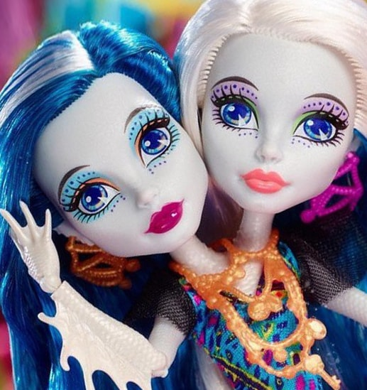 Кукла Перл и Пери Серпентайн, Monster High