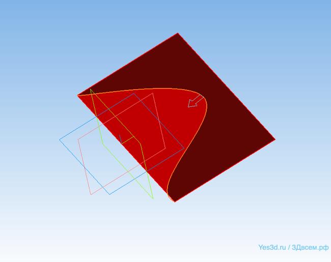 КОМПАС-3D Home для чайников. Основы 3D-проектирования. Часть 10.1. Поверхностное моделирование: Теория.