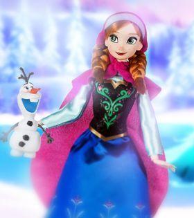 Кукла Анна с питомцем