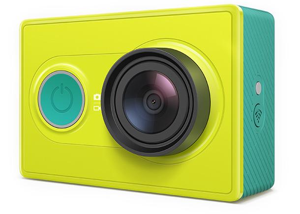 Экшн-камера Xiaomi Yi basic edition (Yi, зеленый)