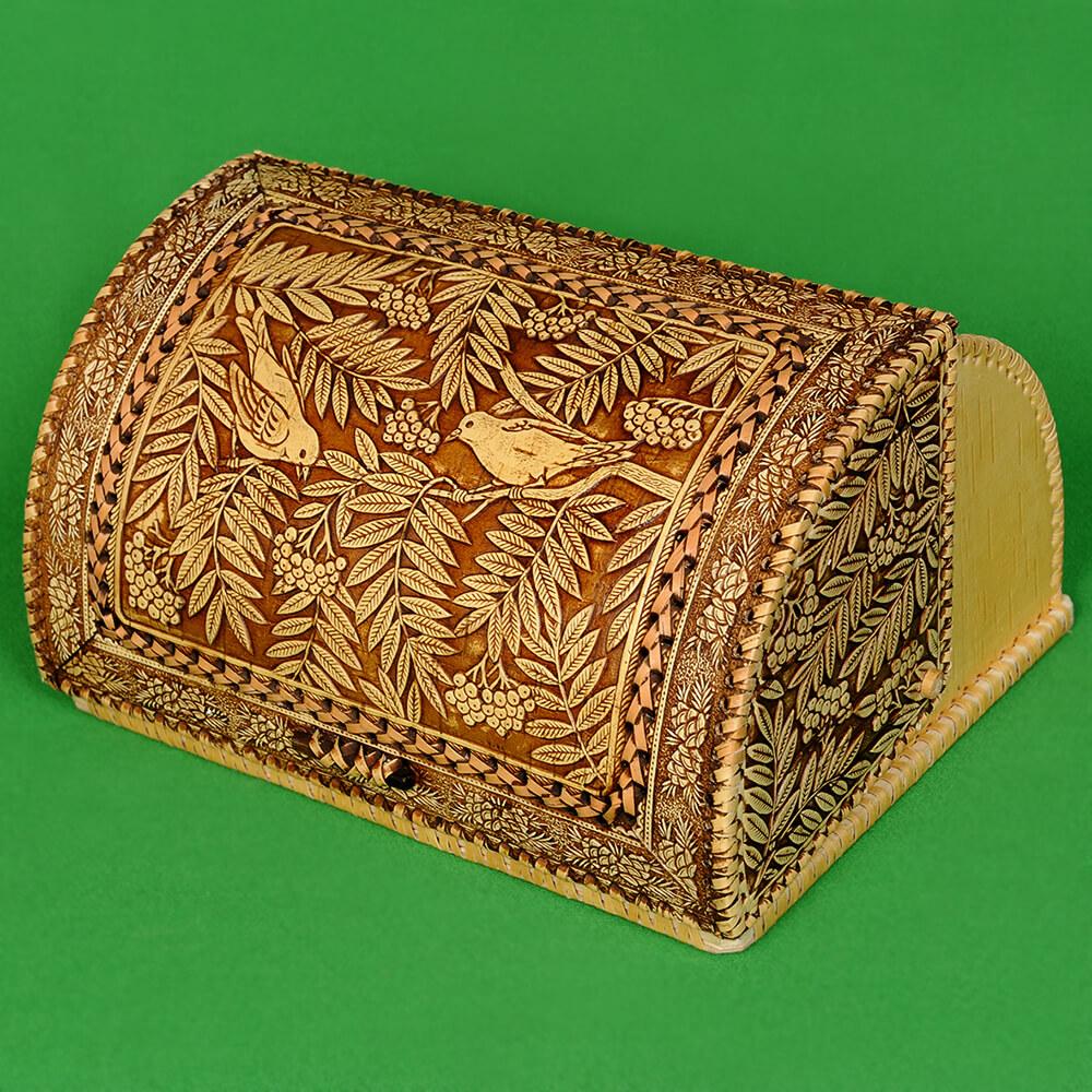 Хлебницы из бересты