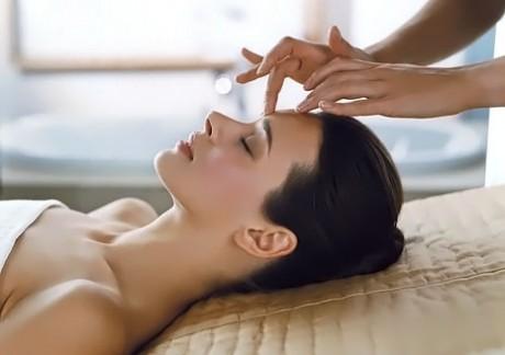 Омоложение лица при помощи точечного массажа