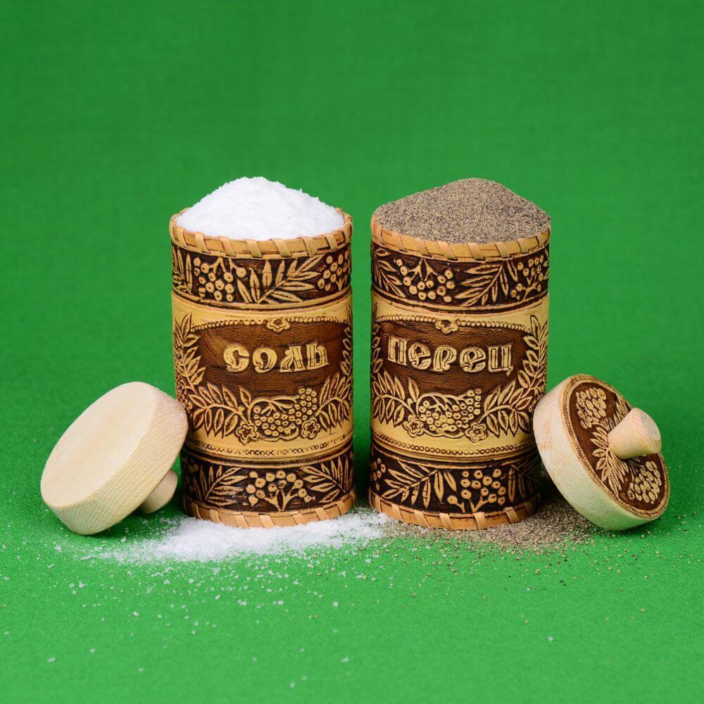 Наборы под соль и перец