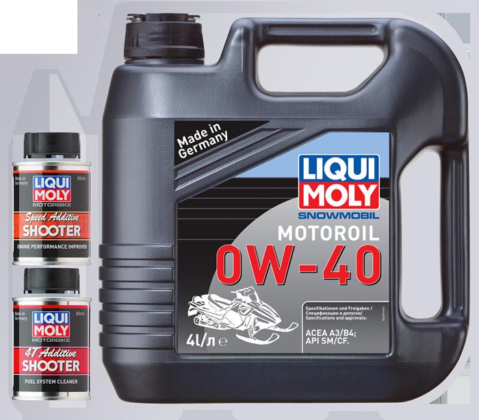 Акционная упаковка моторного масла Liqui MOly