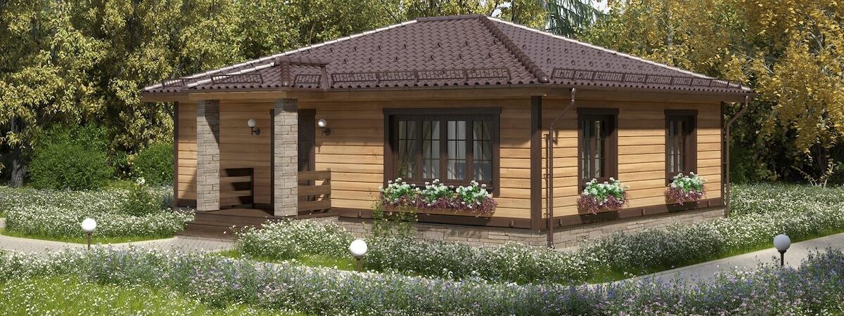 Одноэтажный дом «Альфа» - 990 000 руб