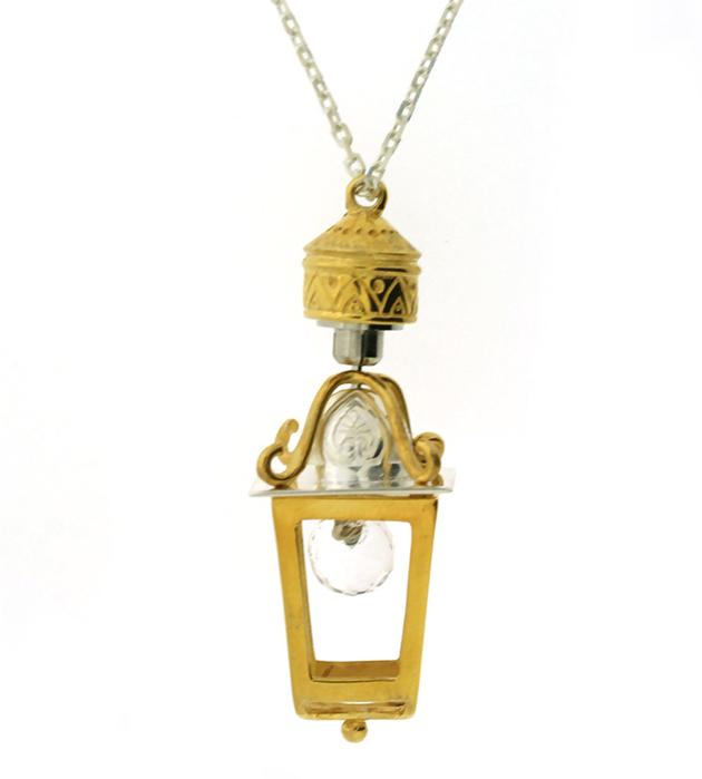 купите украшение ручной работы от Miss Bibi - Lantern&Light necklace