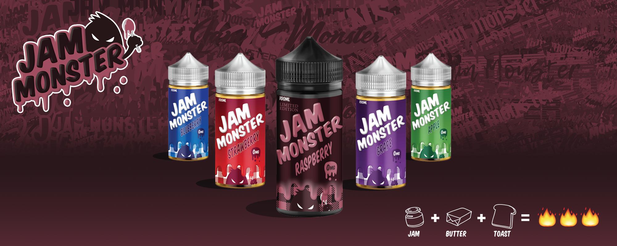 d2b54cbcd371 Жидкость Jam Monster купить Lucky-Smoker.ru Москва