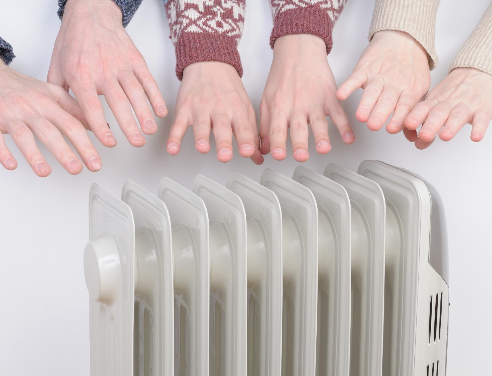 фотография: согреваем замерзшие руки