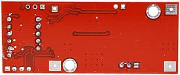 Модуль RP010. Понижающий DC-DC преобразователь напряжения 4,5...28 В => 1,3...25 В (1,5 А ; 15 Вт) со встроенным Вольтметром