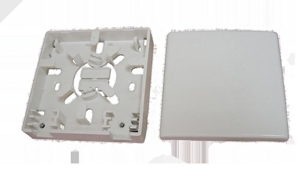 Розетка оптическая 2 адаптера Yomo