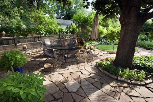 Патио - уютный уголок в саду
