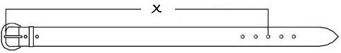Как определить размер ремня