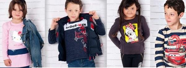 Повседневная одежда и трикотаж для детей