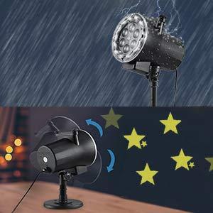 уличный лазерный проектор имеет высокую степень влагозащиты ip 67 для дома