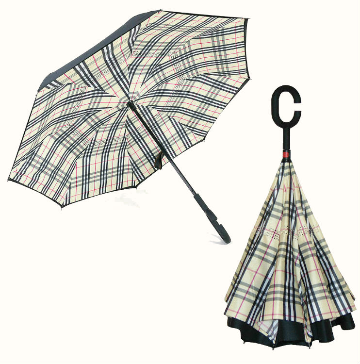 "обратный зонт ReUmbrella scottish ""Шотландка"""