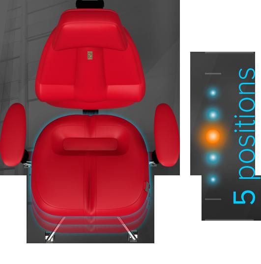 Регулировка СИДЕНЬЯ кресла по глубине
