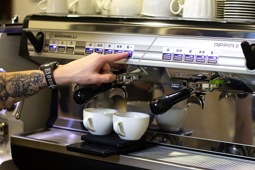Espresso with scale