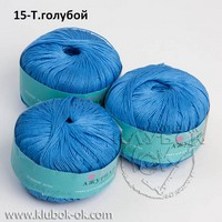 ажурная пехорка 15-Т.голубой