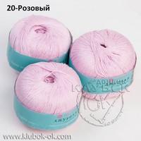 20 розовый ажурная пехорка