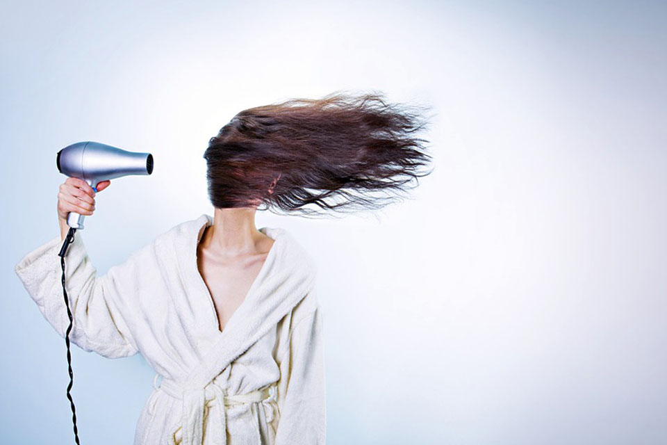Фен и волосы