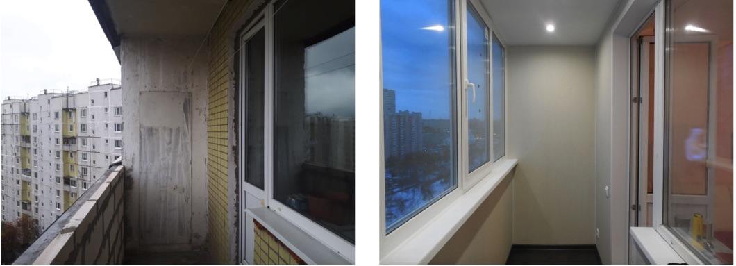 балконы П46