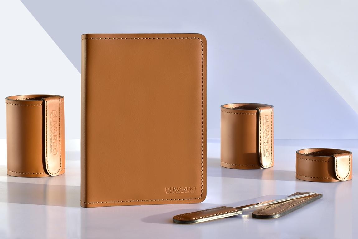кожаный коричневый ежедневник а5