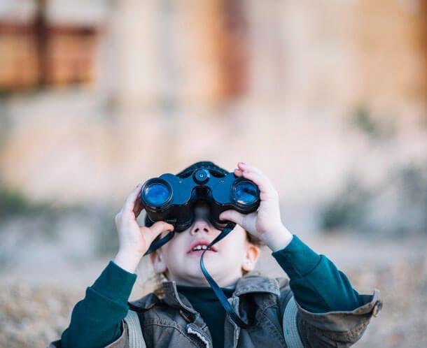 Настройка бинокля под особенности детского зрения