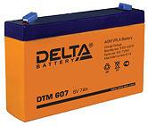 Аккумуляторные батареи Delta DTM 607