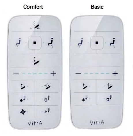 V-care Vitra Remote Control Basic/Comfort