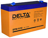Аккумуляторные батареи Delta DTM 612